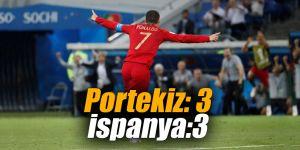 Portekiz 3-3 İspanya