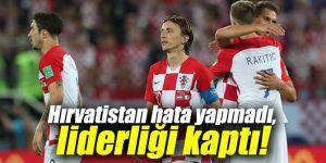 Hırvatistan hata yapmadı, liderliği kaptı!