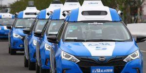 Baidu'nun sürücüsüz araçları otoyolda