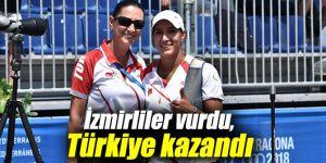 Akdeniz Oyunları'nda İzmirliler vurdu, Türkiye kazandı