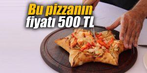 Bu pizzanın fiyatı 500 TL
