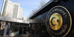 Dışişleri Bakanlığı'ndan kritik Menbiç açıklaması