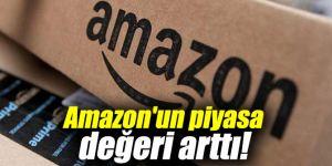 Amazon'un piyasa değeri arttı!