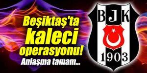 Beşiktaş'ta kaleci operasyonu!