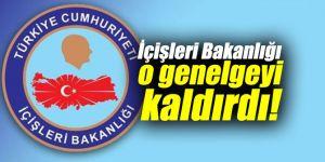 İçişleri Bakanlığı o genelgeyi kaldırdı! Belediye başkanları artık...