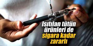 Isıtılan tütün ürünleri de sigara kadar zararlı