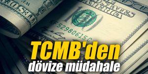 TCMB'den dövize müdahale