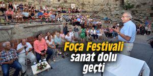 Foça Festivali sanat dolu geçti