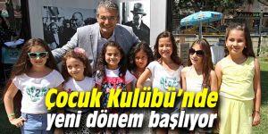 Vecdi Altay Çocuk Kulübü'nde yeni dönem başlıyor