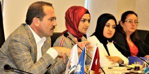 AK Parti Kırkpınar'dan Kadın Kollarına teşekkür