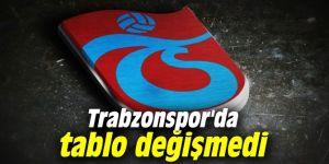 Trabzonspor'da acı tablo değişmedi