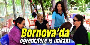 Bornova'da öğrencilere iş imkanı