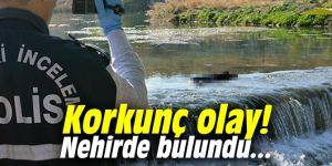 Korkunç olay! Nehirde bulundu...