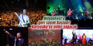 MilyonFest'e geri sayım başladı!  Karşıyaka'ya yıldız yağacak