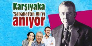 Karşıyaka 'Sabahattin Ali'yi anıyor