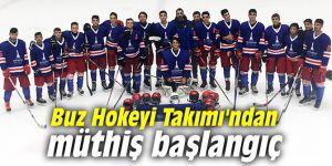 İzmir'in Buz Hokeyi Takımı'ndan müthiş başlangıç