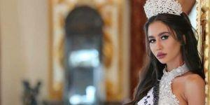 Lübnanlı güzelin başını yakan fotoğraf! Unvanı elinden alındı