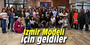Öğrenciler İzmir Modeli için geldiler