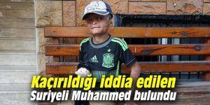 Kaçırıldığı iddia edilen Suriyeli Muhammed bulundu