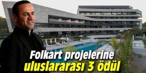 Folkart projelerine uluslararası 3 ödül