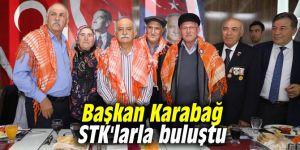 Başkan Karabağ STK'larla buluştu