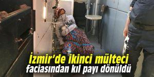 İzmir'de ikinci mülteci faciasından kıl payı dönüldü