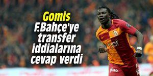 Gomis F.Bahçe'ye transfer iddialarına cevap verdi