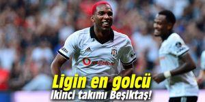 Ligin en golcü ikinci takımı Beşiktaş!