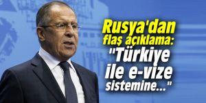 """Rusya'dan flaş açıklama: """"Türkiye ile e-vize sistemine..."""""""