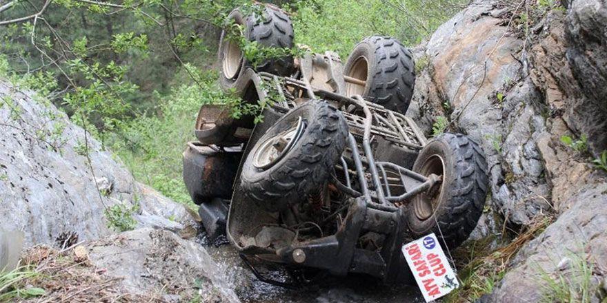 ATV güvenli demeyin! İşte en ilginç ATV kazaları