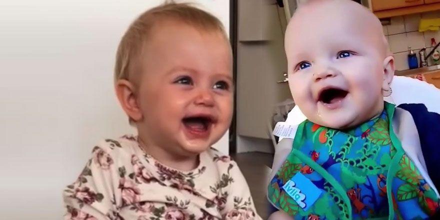 En Komik Bebek Gülüşleri... Komik Bebekler